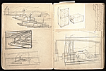[William E. L. Bunn sketchbook #4 pages 8]