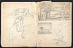 [William E. L. Bunn sketchbook #4 pages 19]