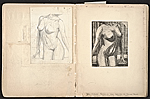 [William E. L. Bunn sketchbook #4 pages 22]