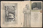 [William E. L. Bunn sketchbook #4 pages 28]