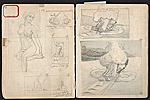 [William E. L. Bunn sketchbook #4 pages 29]