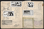 [William E. L. Bunn sketchbook #4 pages 43]