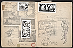 [William E. L. Bunn sketchbook #4 pages 45]