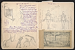 [William E. L. Bunn sketchbook #4 pages 46]