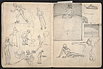 [William E. L. Bunn sketchbook #4 pages 49]