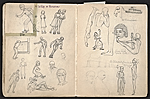 [William E. L. Bunn sketchbook #4 pages 50]