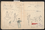 [William E. L. Bunn sketchbook #4 pages 64]