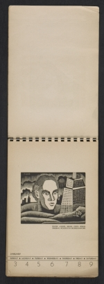 [American block print calendar 1937 pages 2]