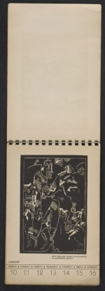 [American block print calendar 1937 pages 3]