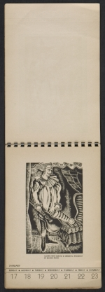 [American block print calendar 1937 pages 4]