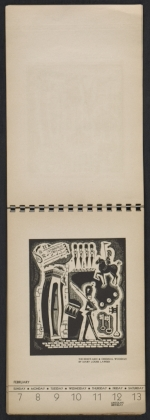 [American block print calendar 1937 pages 7]