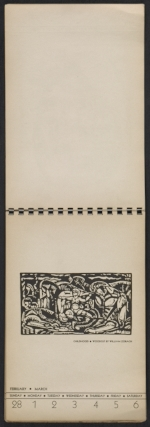 [American block print calendar 1937 pages 10]