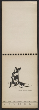 [American block print calendar 1937 pages 11]