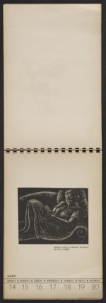 [American block print calendar 1937 pages 12]