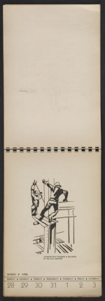 [American block print calendar 1937 pages 14]