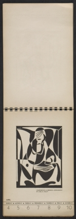 [American block print calendar 1937 pages 15]