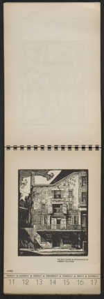 [American block print calendar 1937 pages 16]