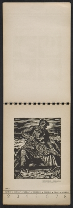 [American block print calendar 1937 pages 19]