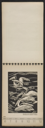 [American block print calendar 1937 pages 24]