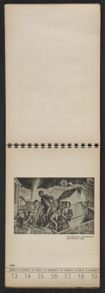 [American block print calendar 1937 pages 25]