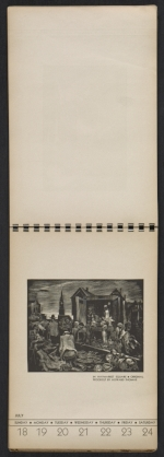 [American block print calendar 1937 pages 30]