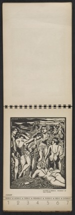 [American block print calendar 1937 pages 32]