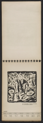[American block print calendar 1937 pages 34]