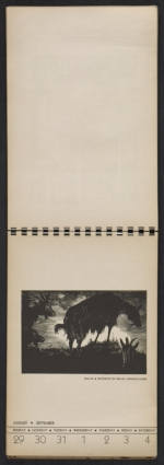 [American block print calendar 1937 pages 36]