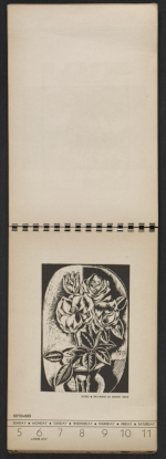 [American block print calendar 1937 pages 37]