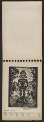 [American block print calendar 1937 pages 40]