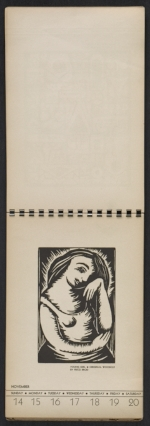 [American block print calendar 1937 pages 47]