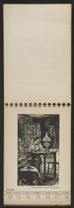 [American block print calendar 1937 pages 51]
