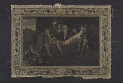A study sketch of a suppossed Titian painting