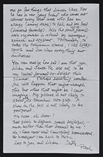 [Paul Cadmus letter to Webster Aitken page 4]