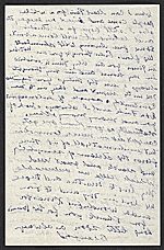 [Beauford Delaney, Paris, France letter to Lawrence Calcagno 2]