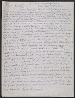 Beauford Delaney letter to Lawrence Calcagno, Paris 1963