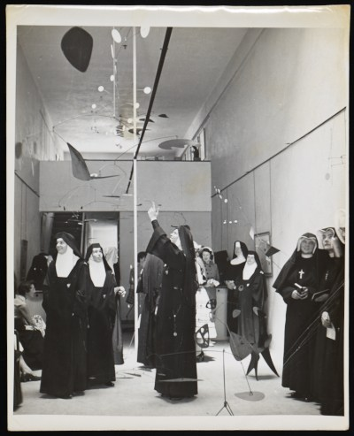 [Installation view of an Alexander Calder exhibition at the Frank Perls Gallery]