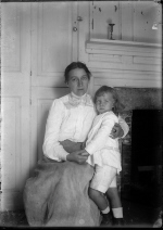 M. C. (Luella May Carlsen) and D. C. (Dines Carlsen), Windham