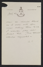 [Andrew Carnegie, Dornoch, Scotland letter to John Wesley Beatty, Pittsburgh, Pa. 2]