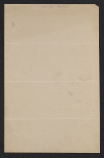 [Winslow Homer, Scarborough, Me. letter to John Wesley Beatty, Pittsburgh, Pa. verso 1]