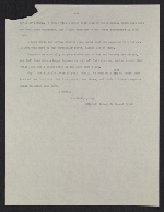 [Copy of George de Forest Brush, New York, N.Y. letter to Helen Beatty, Pittsburgh, Pa. 1]