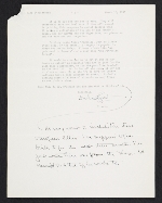 [Homer Saint-Gaudens, Germany letter to Anne K. Stolzenbach, Pittsburgh, Pa. 1]