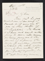 [Mary Cassatt letter to Albert Dakin Gihon ]