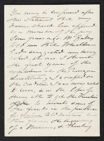 [Mary Cassatt letter to Albert Dakin Gihon 1]
