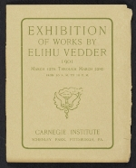 Exhibition of works by Elihu Vedder