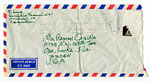[Fernando Luis, Madrid, Spain to Ramón Carulla, Opa Locka, Fla. envelope ]