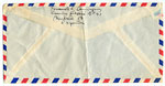 [Fernando Luis, Madrid, Spain to Ramón Carulla, Opa Locka, Fla. envelope verso ]