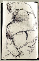 [Sketchbook of Ramón Carulla 1980 sketch 2]