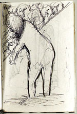 [Sketchbook of Ramón Carulla 1980 sketch 3]