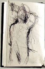 [Sketchbook of Ramón Carulla 1980 sketch 6]